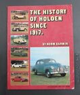 HISTORY OF HOLDEN SINCE 1917 SOFT COVER BOOK 1983 BY NORM DARWIN