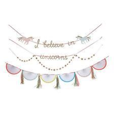 NEW Meri Meri Unicorn Garland - Birthday Decoration