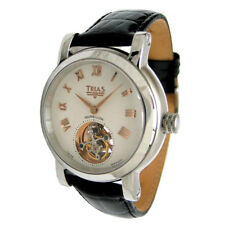 Trias Tourbillon Rose Gold Gold Plated Hand Balance Spring and Index With 25