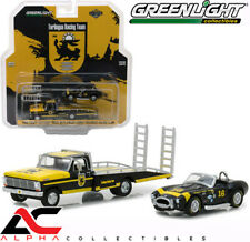 GREENLIGHT 33110A 1:64 1969 FORD F-350 RAMP TRUCK & TERLINGUA SHELBY COBRA