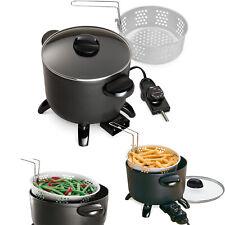 Electric Deep Fryer Home Restaurant Kitchen Multi Cooker Countertop Tabletop