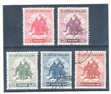THAILAND 1955 King Naresuan on War Elephant FU