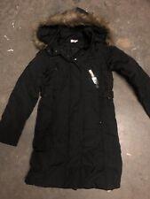 Womens Down Winter Coat Long Size XS/S EU34