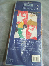 """NIP 4th of July Eagle Statue of Liberty Large Garden Flag 28"""" x 40"""" America"""