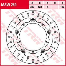 disque frein flottant avant  TRW  MSW 269  MBK  YP  125  400  SKYCRUISER
