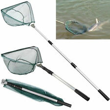 Triangula Telescopic Fishing Landing Net 3 Section Extending Pole Folding Handle