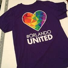 "Adidas Orlando City FC ""Orlando United"" T-shirt Size M Medium LGBT"