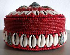 Vintage Tibetan Red Coral Trinket Box
