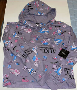 Disney Alice in Wonderland Hoodie Size 3XL New With Tags