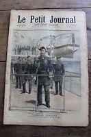 Petit journal illustré N°150 1893 Cuirassé Empereur Nicolas 1er Escadre Russe