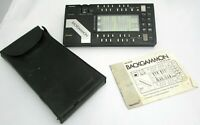 Tandy Backgammon Vintage LCD Handheld Electronic Game (No. 60-2188) Tested/Works