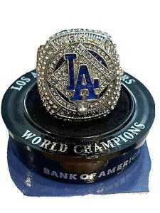 Dodgers 2020 World Series Replica Ring SGA Championship Ring! NEW
