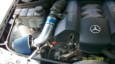 BCP BLUE 98-03 Mercedes E320 E430 ML320 CLK320 / 97 E420 Short Ram Racing Intake