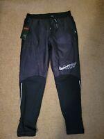 NIKE Mens Thermore Phenom Elite Running Pants Black Size Small BV5064-010 NEW