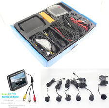 "Auto Rear+ front View Camera + 3.5"" Digital LCD TFT Monitor + 6 Parking Sensors"