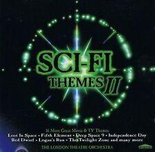 THE LONDON THEATRE ORCHESTRA Sci-Fi Themes II CD Album Emporio EMPRCD 809 1998