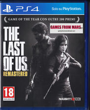 THE LAST OF US REMASTERED PS4 ITALIANO