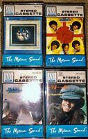 LOT OF 4 MOTOWN SOUND CASSETTE TAPES MICHAEL JACKSON JACKSON 5 GOT TO BE THERE