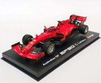 Burago 1/43 Scale 18-36814 - F1 Ferrari SF90 - #16 Australian GP - Leclerc
