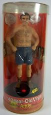 The 40 Year Old Virgin Talking Andy Doll Figure 11 Phrases Steve Carell NIP NEW