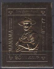 Manama 1970 ** Mi.261 B Baden-Powell Pfadfinder Scouts Scouting