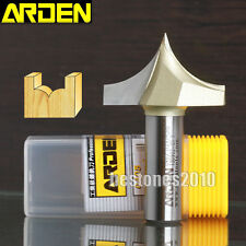 "ARDEN Point Cutting Roundover Router Bits 1/4*3/8-1/4"" shank 1/4×3/8"" Cutter"