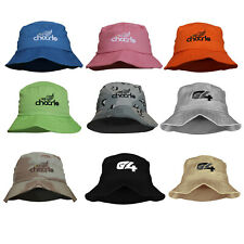 G4 Cotton Bucket Hats Outdoor Summer Cap Hiking Beach Sports Boonie Fishing