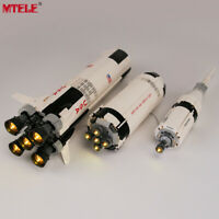 LED Light Up Kit For LEGO 21309 The Apollo Saturn V Launch Lighting building