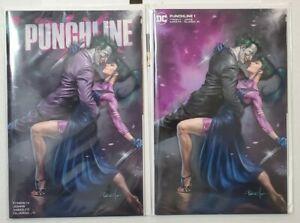 Punchline #1 Lucio Parrillo Variant Cover Set NM