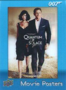 James Bond Villains & Henchmen Movie Posters Chase Card MP-23 Quantum of Solace