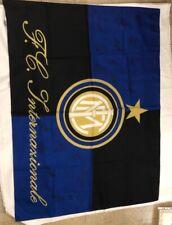 bandiera FC Internazionale INTER autografi or 130x96 cm zainetto in omaggio