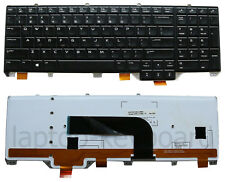 OEM New QWERTY backlit genuine keyboard Dell Alienware M17x M18x R4 R5 /DE213-US