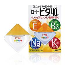 Rohto Vita 40a Alpha 12ml Vitamin Eye Drops Free Shipping Direct from Japan