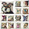 Cute Dog Pillow Case Throw Sofa Cushion Cover Home Decor Pillow Cover 18inch