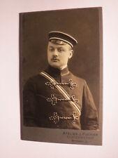 Corps Vandalia Leipzig 1908 Hans ( Johannes ? ) Roehl Studentika CDV Elsterwerda