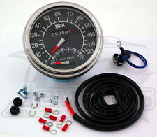 5in. Dash Mount 1:1 Speedometer w/Tach Drag Specialties 71478M-BX33