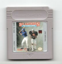 Video Game - Nintendo Game Boy BO JACKSON TWO GAMES IN ONE Loose