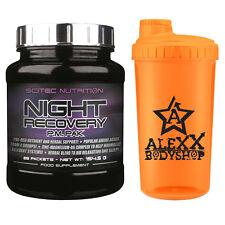 Scitec Nutrition Night Recovery PAK 28 Packs hilft beim Schlafen + Bonus/ Shaker