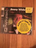 JIMMY WHITE'S 2 CUEBALL - PLAYSTATION - COMPLETE W/MANUAL - FREE S/H (L)