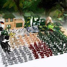 300Pcs Soldier Kit Set Action Figures Military Army Men Sand Scene Model Boy Toy