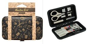 SEWING KIT Hemline Gold with Contents