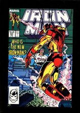 IRON MAN 231 (7.5)  MARVEL (b017)