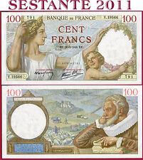 (com) # FRANCE - 100 FRANCS 20.2. 1941  - P 94  - UNC with little paper defect