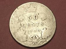 1900 Canada 50 cents - low grade