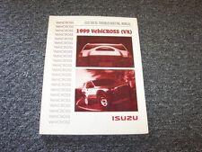1999 Isuzu VehiCROSS Electrical Troubleshooting Wiring Diagram Manual 3.5L V6
