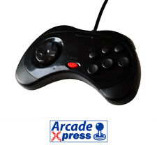 Mando Sega Saturn USB Genesis Controller Pad Stick Black Negro New for PC