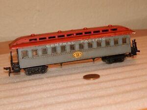 Vintage Pocher HO Central Pacific #52 Old Time Truss Rod Passenger Car Coach