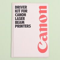Driver Kit for Canon Laser Beam Printers LBP-8III & LBP-4 V4.0 (1990) Windows