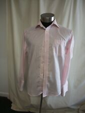 "Mens Shirt NEXT pink cotton, collar 16 1/2"", chest 44"", formal, double cuff 7560"