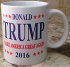 Ceramic Coffee Tea Mug Cup11oz Donald Trump 2016 Make America Great Again New